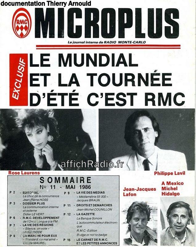journal interne mai 1986
