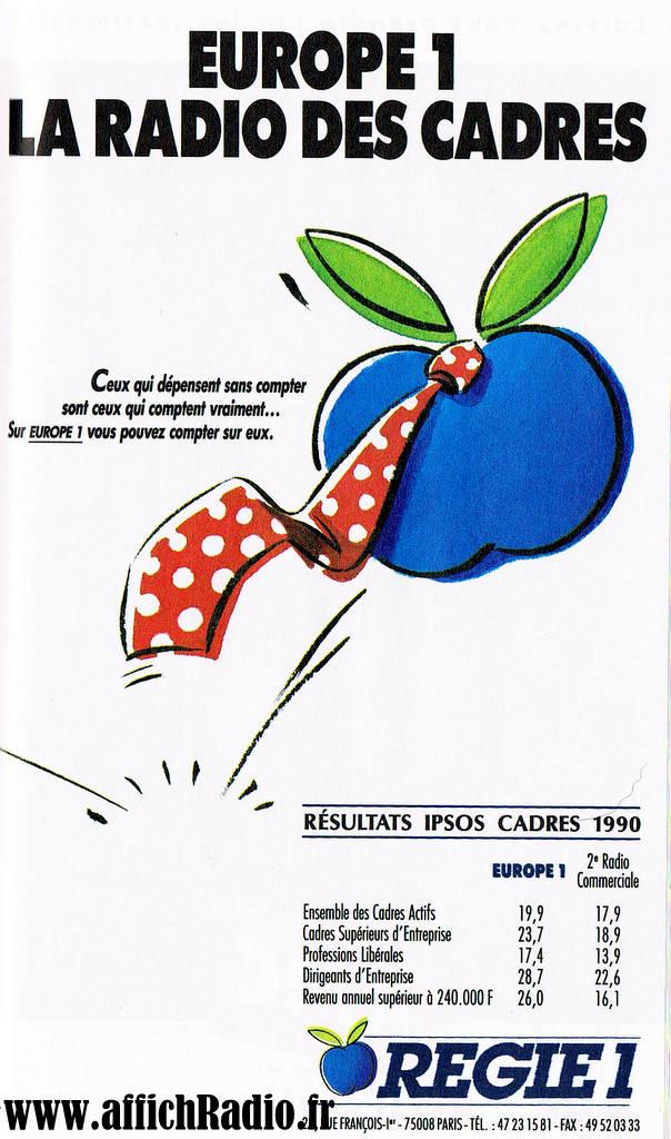 Europe 1 les années 90