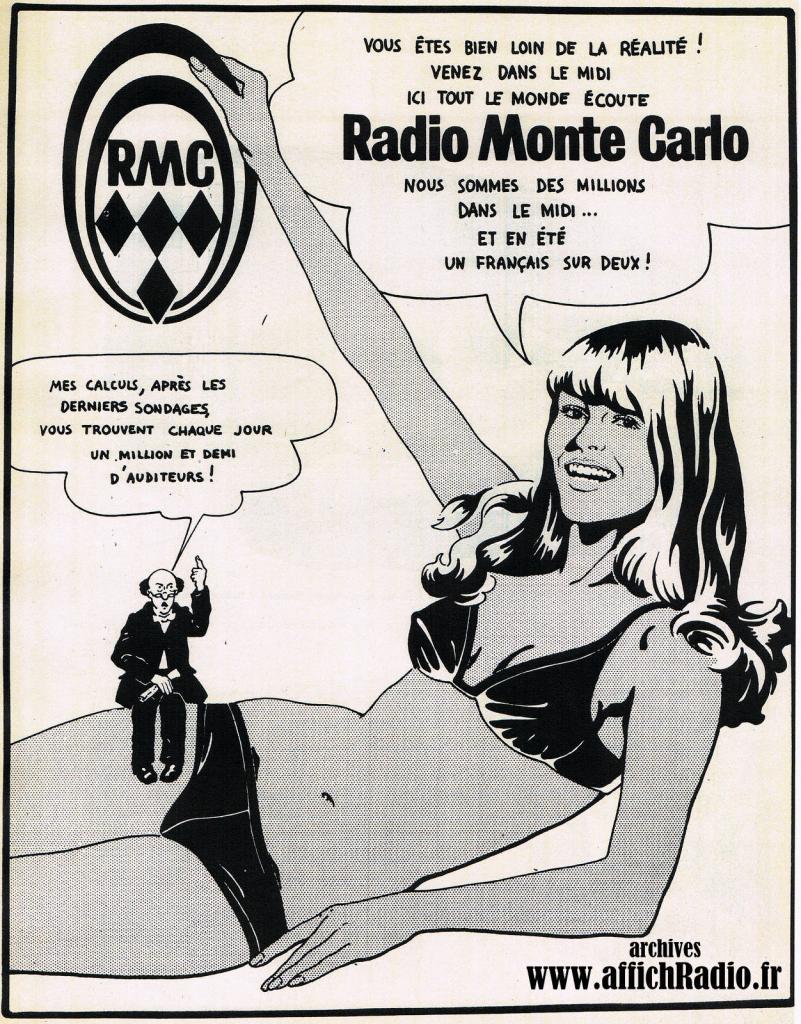 Radio Monté Carlo de 1950 à 1979