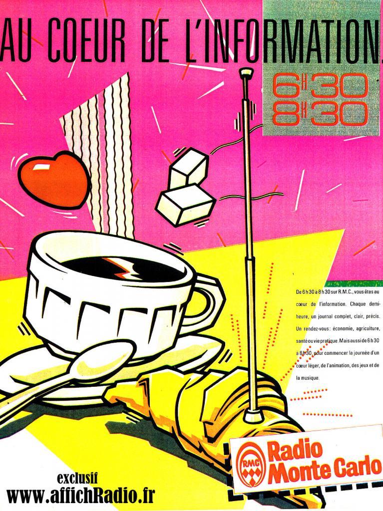 Radio Monté Carlo de 1980 à l'an 2000