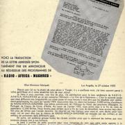 MAROC / 1955