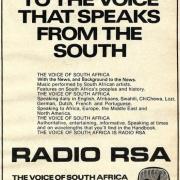AFRIQUE DU SUD / 1978