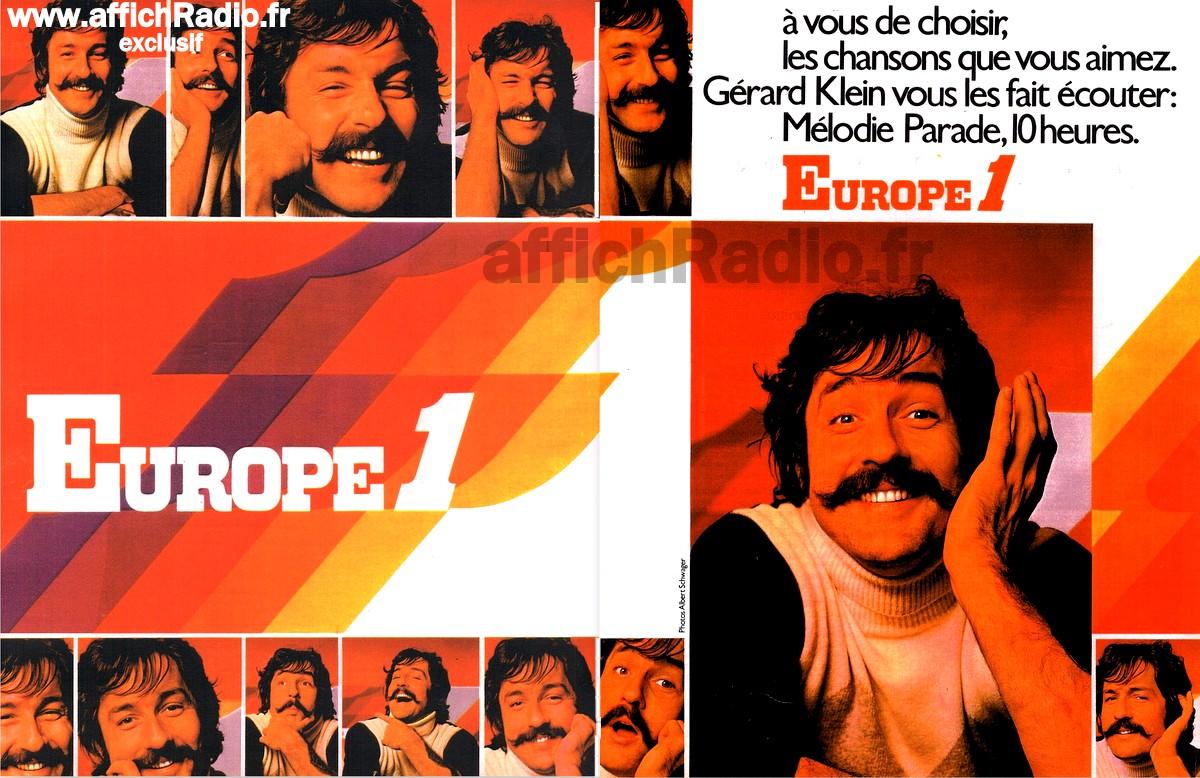 Europe 1 les années 70